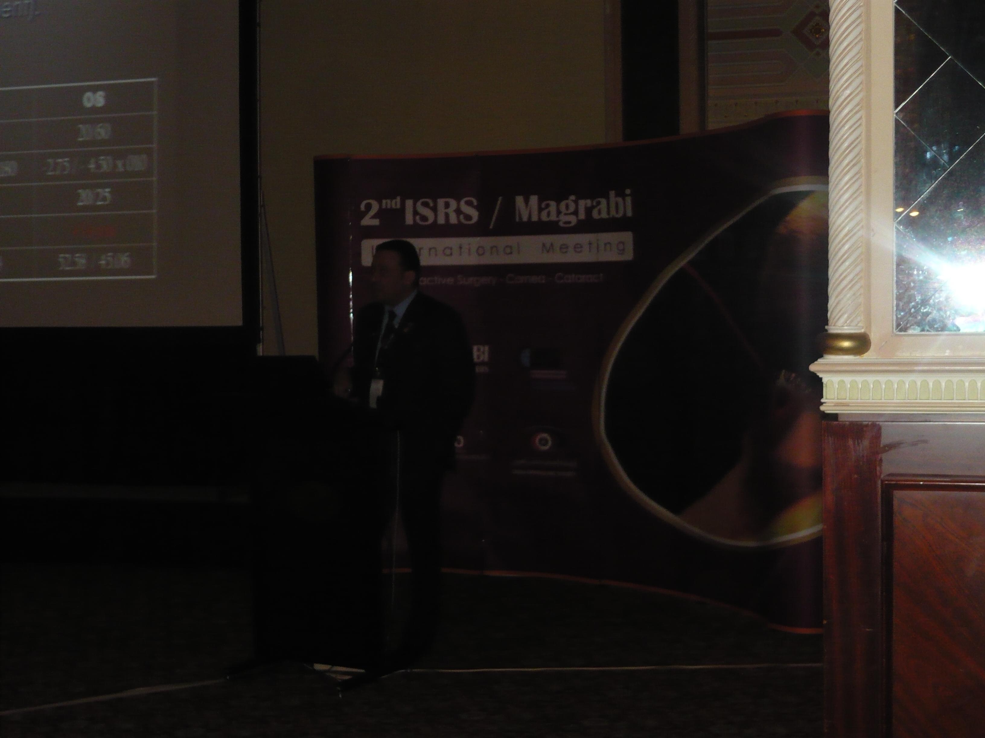 MAGRABI / ISRS 2011 May, Muscat – OMAN | Dr Tamer O Gamaly